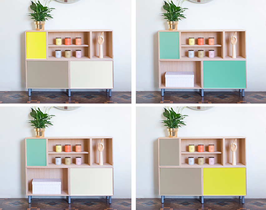 BrickBox Standard with Aluminium Doors