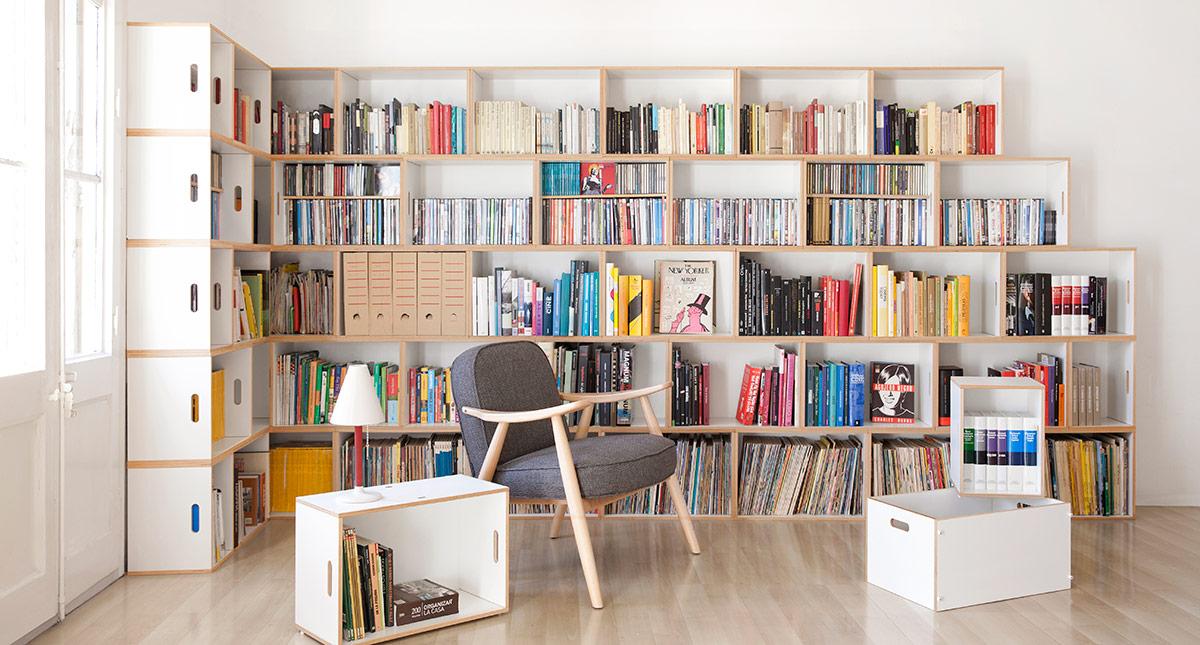 Brickbox - Regale, modulare Bibliotheken