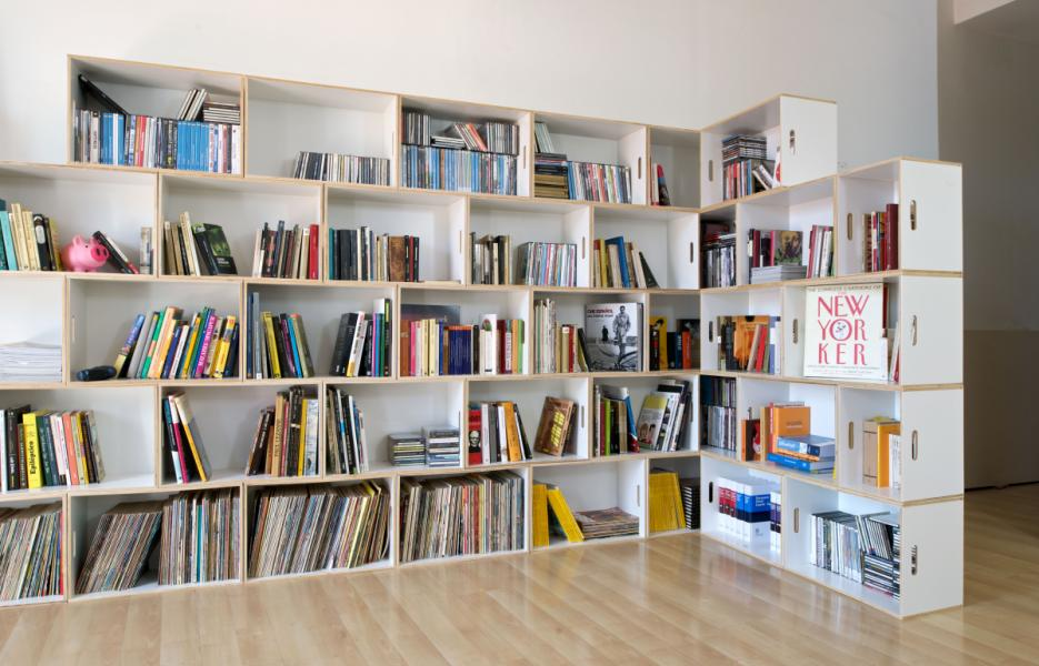 Estanter as o librer as brickbox estanterias - Librerias modernas diseno ...