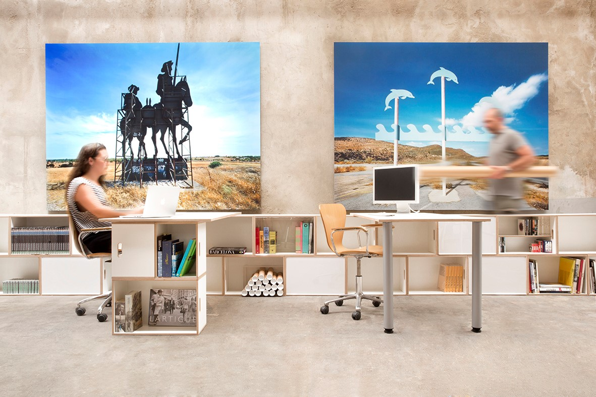 Modulos Para Oficinas Pequenas.Muebles Modulares Para La Oficina Brickbox Estanterias