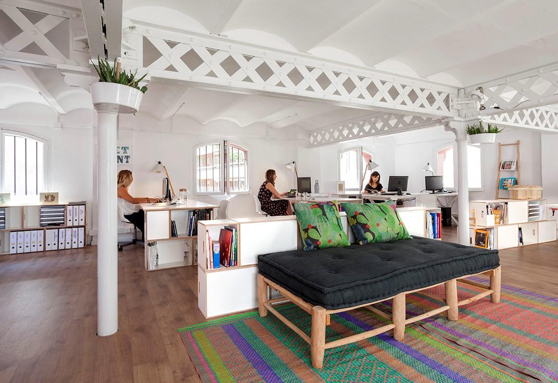 Muebles modulares para la oficina brickbox estanterias for Muebles para oficina estilo minimalista