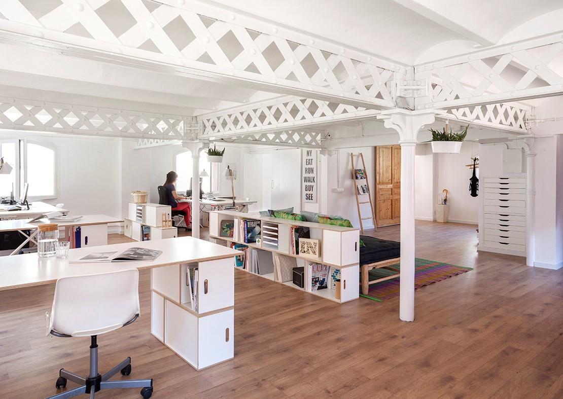 Muebles Modulares Para La Oficina Brickbox Estanterias  # Muebles Modulares Para Oficina