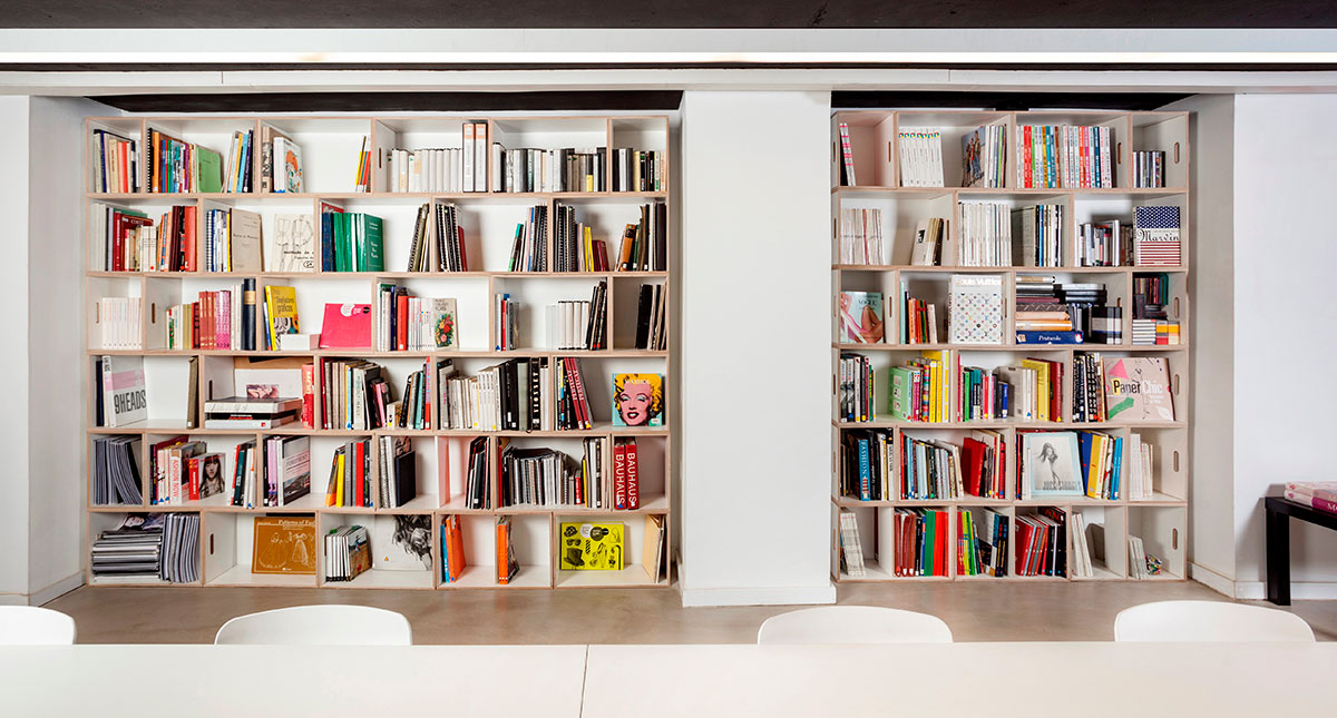 biblioteca apilando mdulos