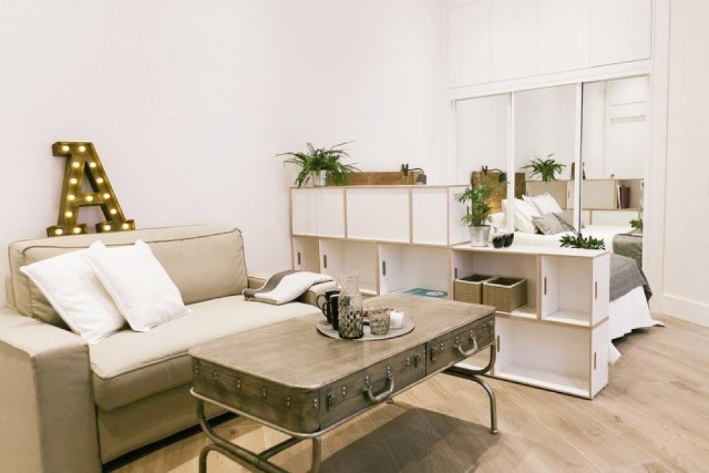 Brickbox estanterias librerias modulares - Estanterias separadoras de ambientes ...
