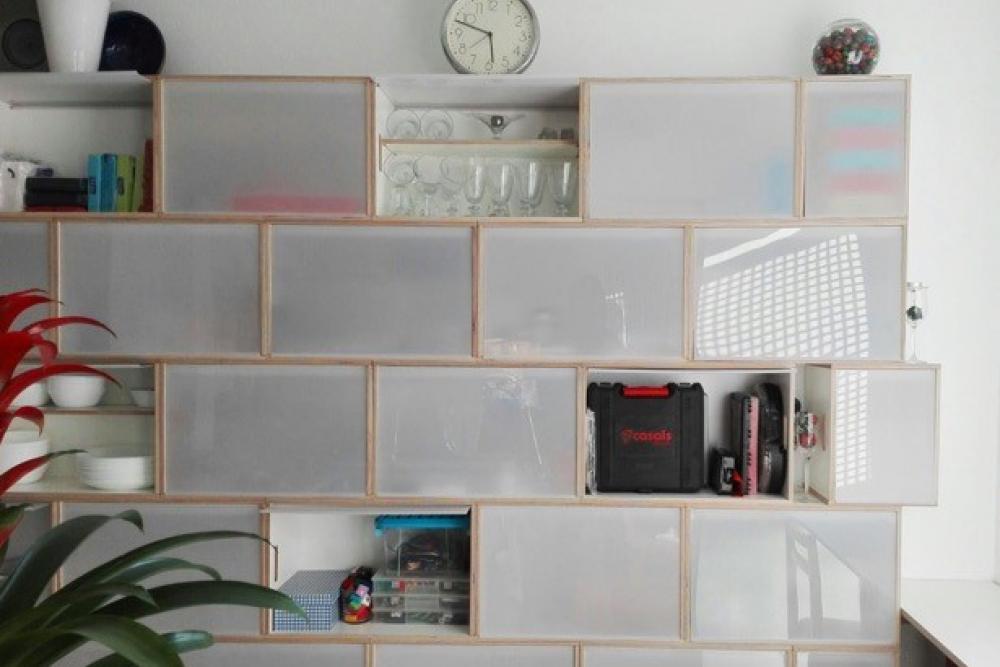 Mueble contenedor para cocina despensa y office - Estanterias para cocina ...