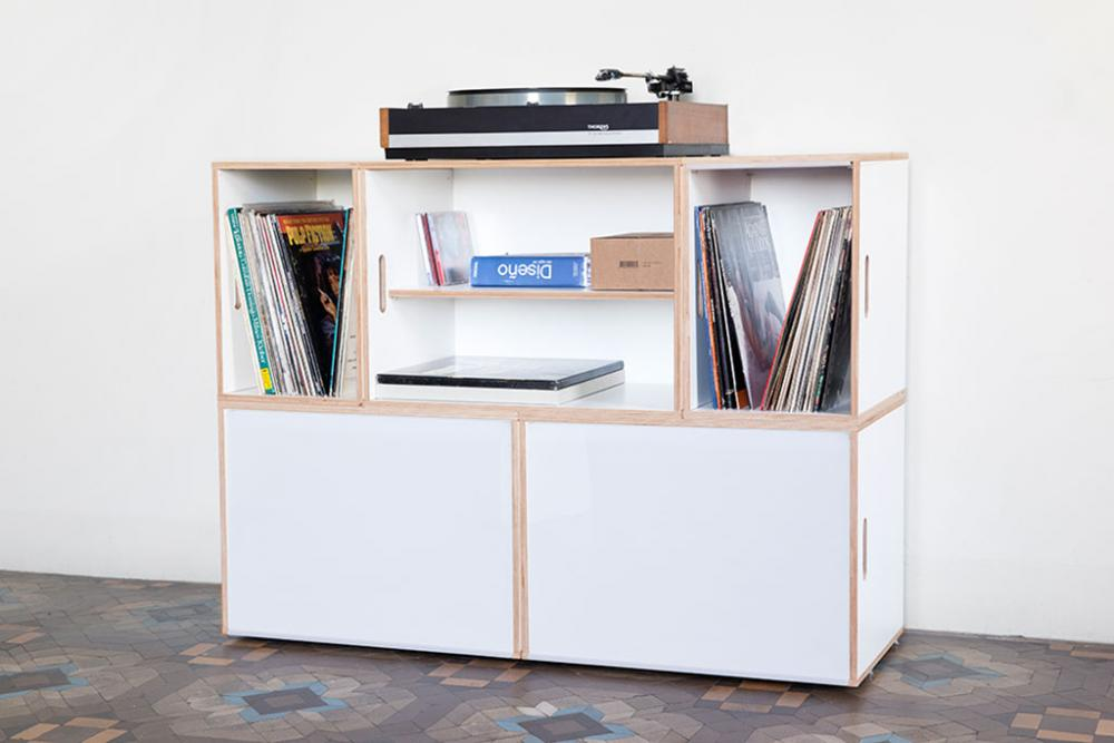 Furniture For Vinyl Records Collection