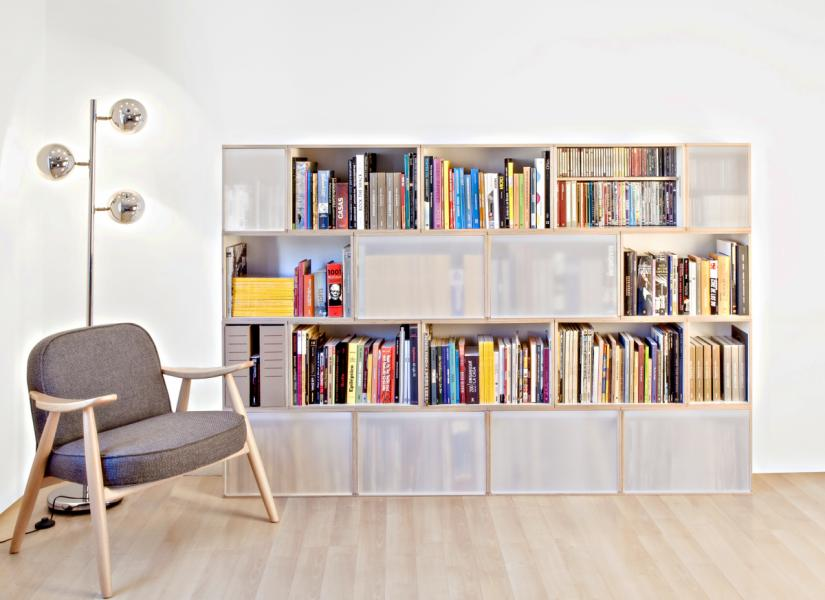 Doors and shelves for your bookcase