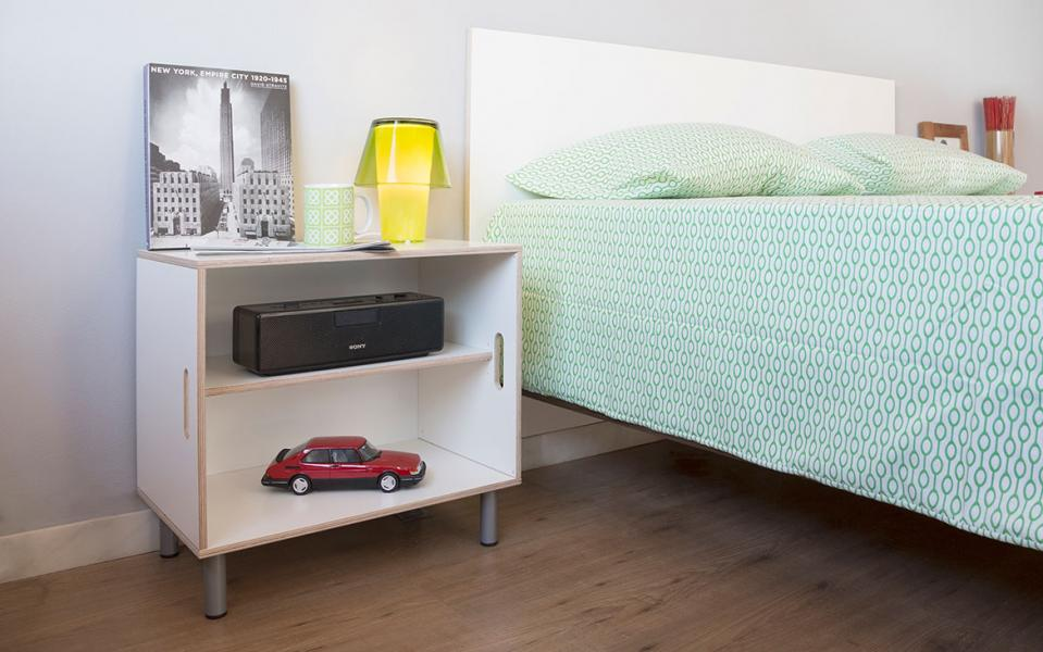 Modular bedside tables with xl