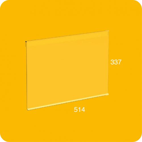 Puerta transparente estándar para estantería modular