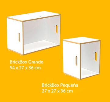 Estanterías modulares tamaño estándar de contrachapado de abedul en color blanco