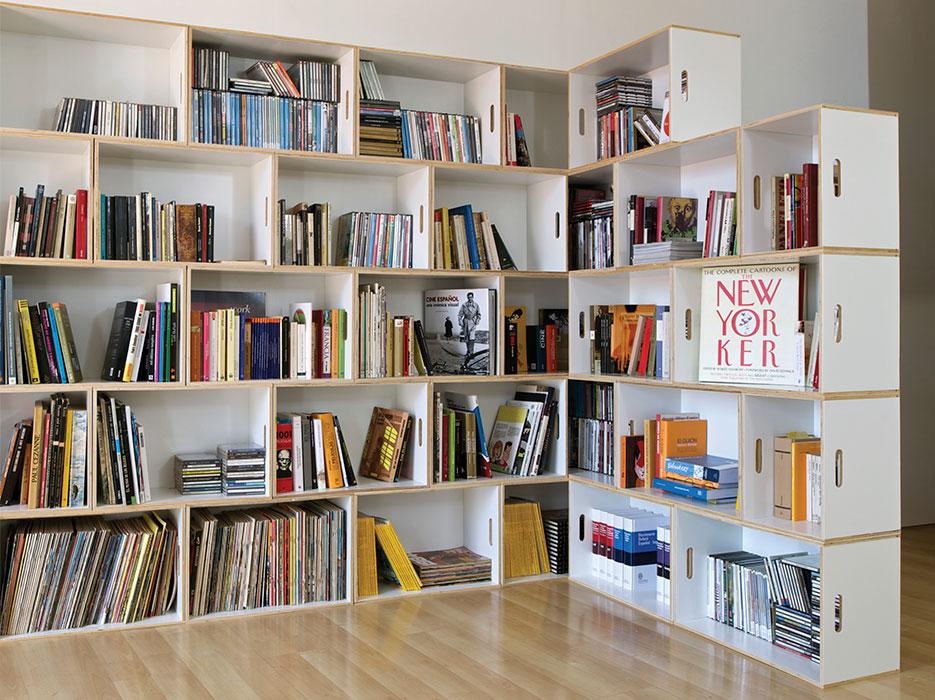 Librerías o estanterías modulares