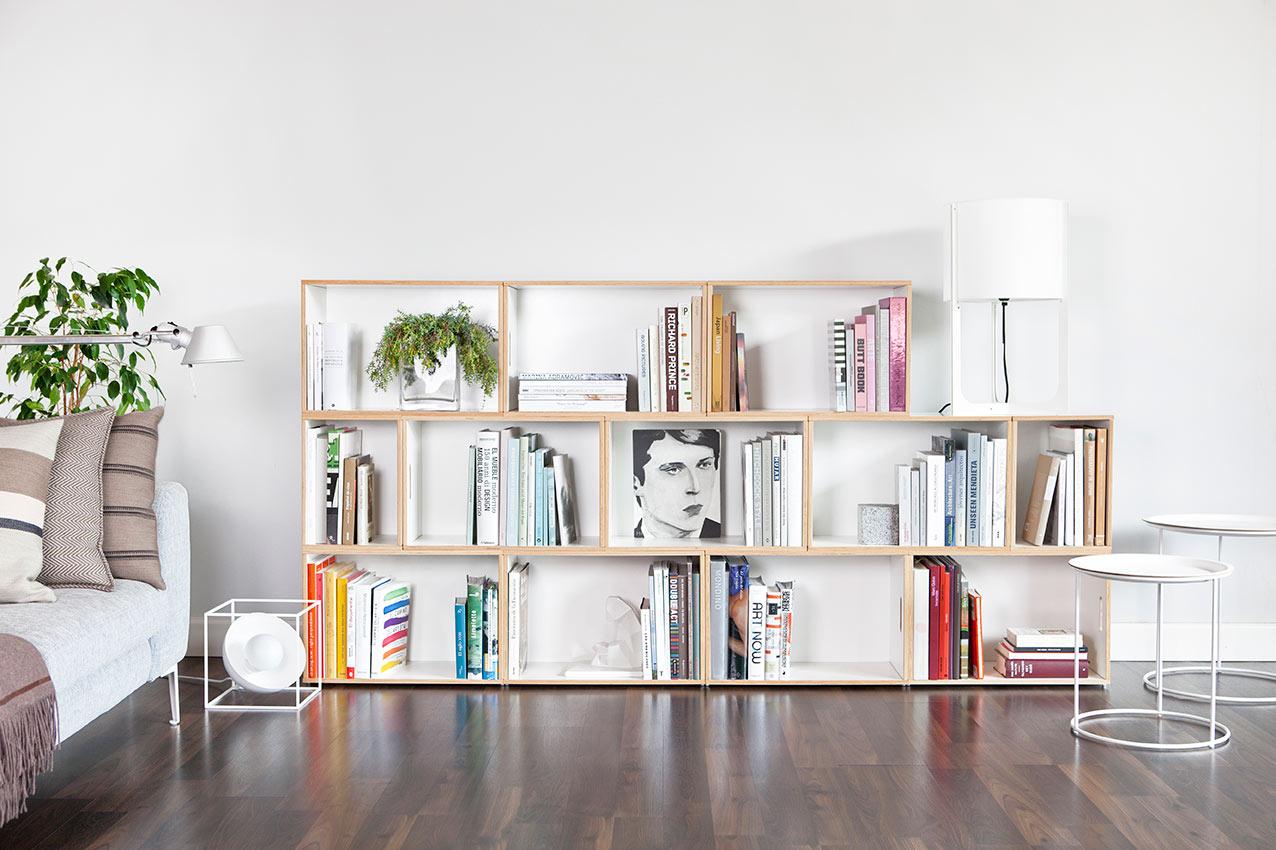 Mueble modular para el salón