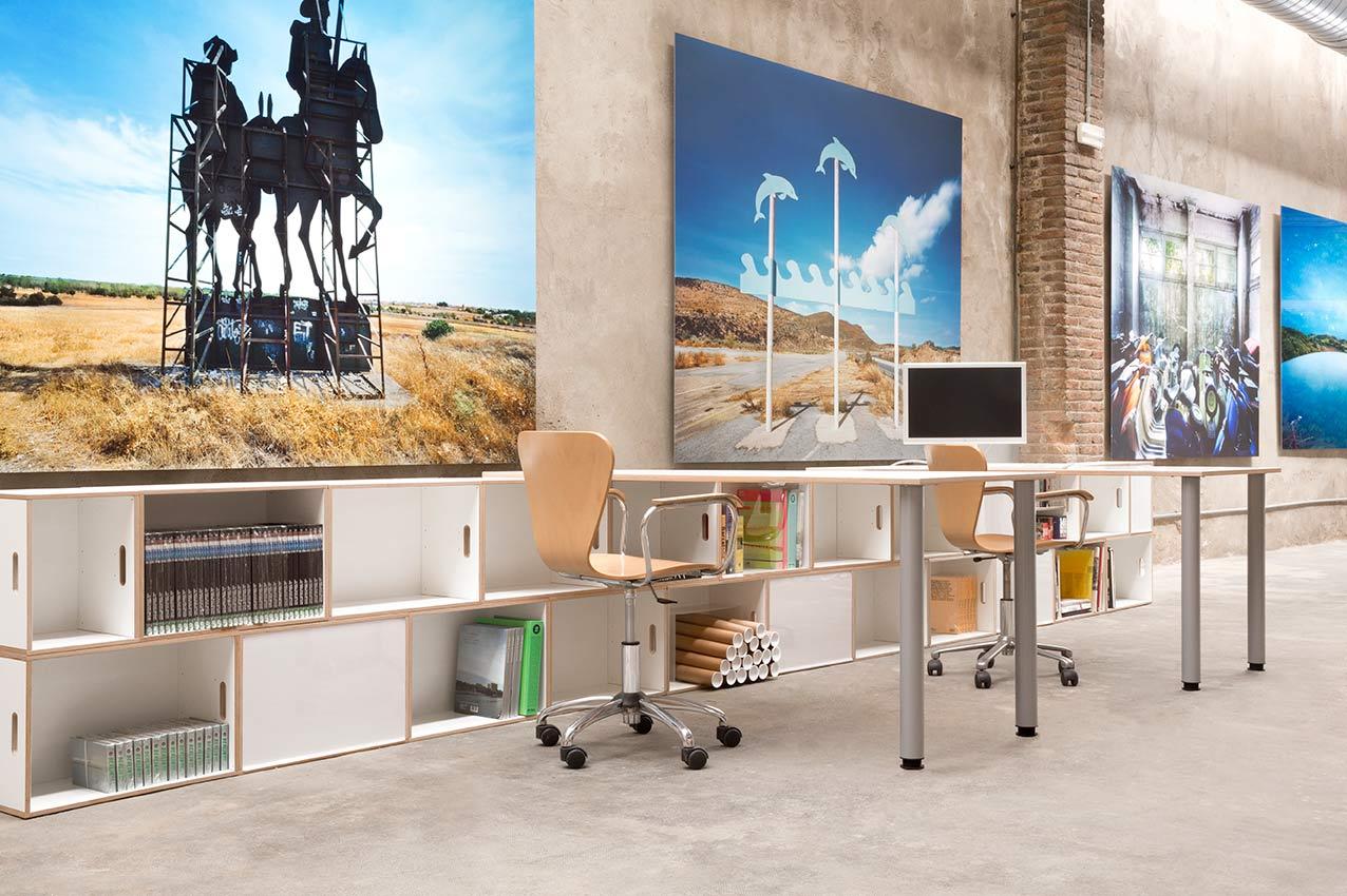 Mobiliario modular de oficina