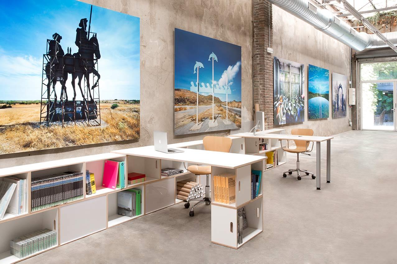 Escritorios para oficinas modulares