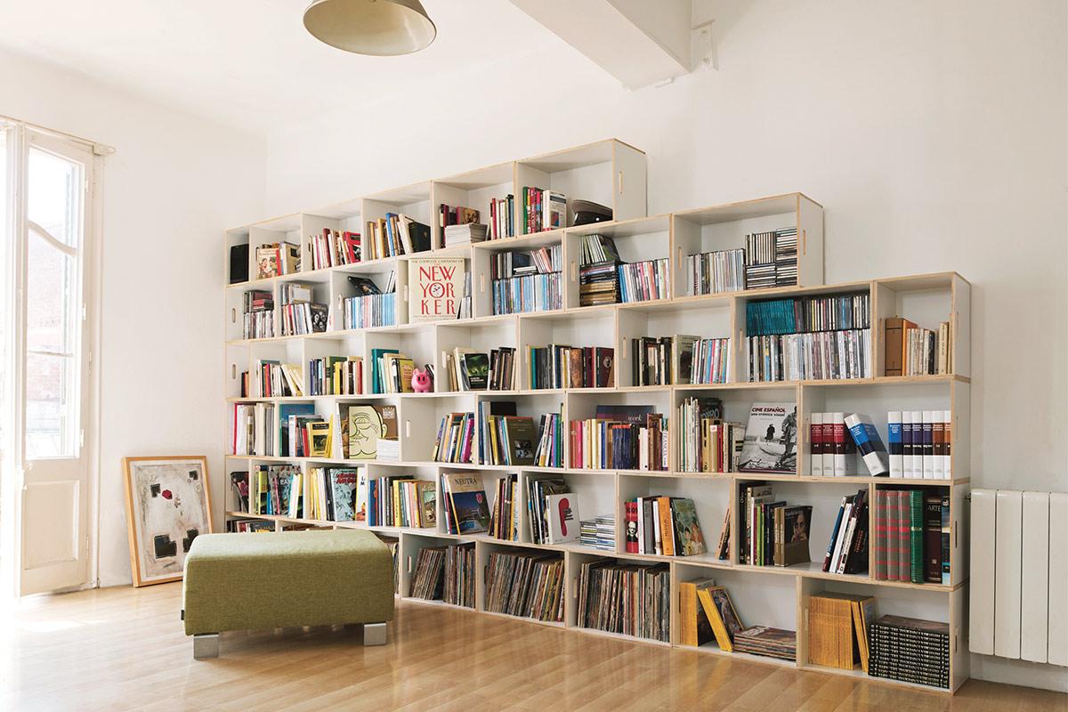 Gran estantería para salón
