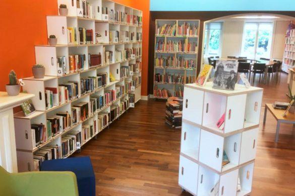 Étagère bibliothèque à Amsterdam