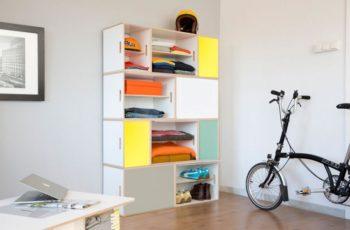 Nuevas puertas aluminio XL en cuatro colores: amarillo, gris, turquesa y blanco. Los módulos XL son ideales para construir armarios roperos y almacenar discos de vinilo.