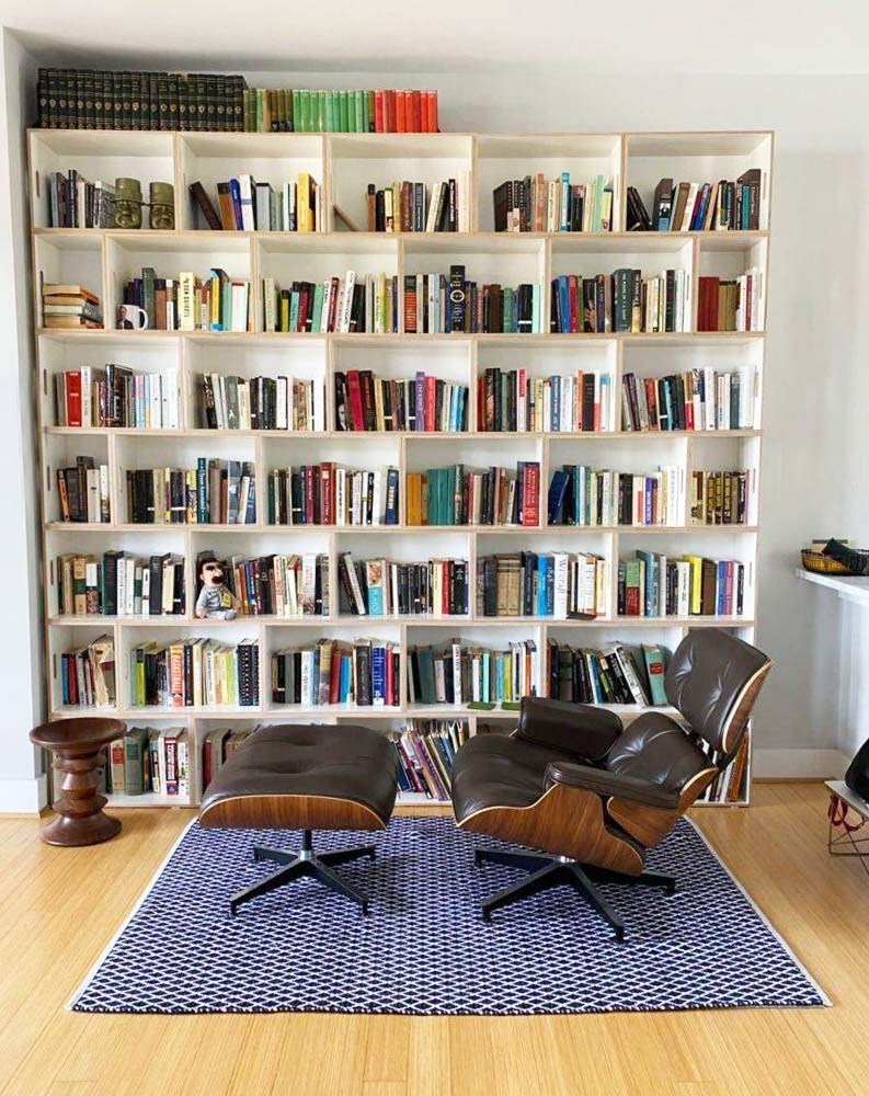 Butaca Eames Lounge Chair y BrickBox