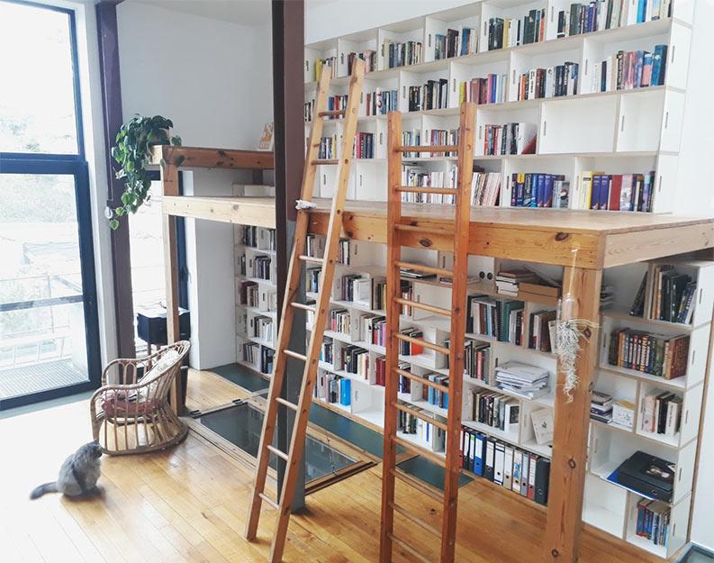 Gran libreria biblioteca